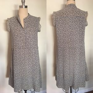MADEWELL- SZ 4 - Overlay Dress